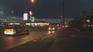 The woman was left injured in the car park area of the Parkway Shopping Centre in Coulby Newham.