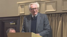 Lord Heseltine speaking in Darlington on Thursday.