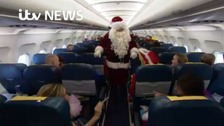 All aboard festive flight to see Santa