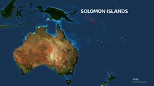 Tsunami warning after quake strikes Solomon Islands