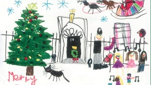 Theresa May turns to local children for her Christmas cards