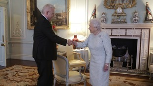 First Minister has private meeting with Queen