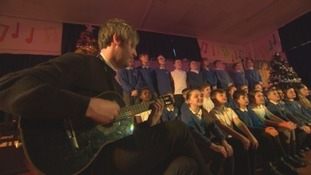A chart-topper and his musical friends help a school in Durham with their Christmas concert