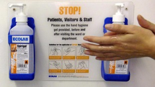 Health bosses are urging people in schools and care homes to regularly wash their hands.