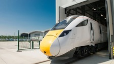 Hitachi launch first Intercity Express built in Durham