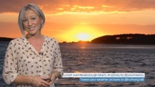 Wales Weather: A mild night with rain on the way!