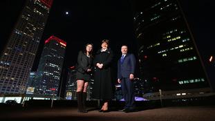 Foster opens NI Bureau in Beijing amid heating scheme controversy