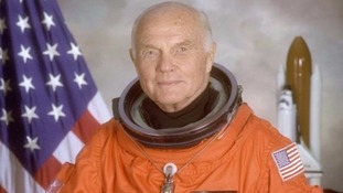 John Glenn was the fifth person in space