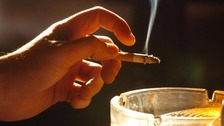 Heavy smokers are particularly at risk of lung cancer