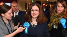Caroline Johnson holds on to the seat for the Conservatives