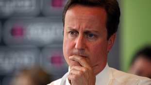 David Cameron is concerned about the future of the Euro