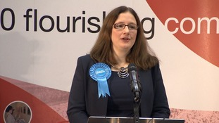 Caroline Johnson 'truly honoured' to be elected Conservative MP for Sleaford and North Hykeham after by-election win