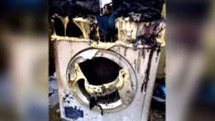 tumble drier fire