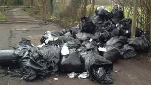 Clothing firm fined for fly-tipping
