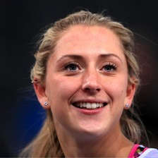 Olympic champion Laura Kenny has been named Sunday Times Sportswoman of the Year