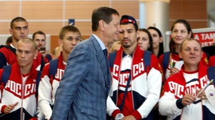 Limited numbers of Russian athletes were allowed to the Rio Games