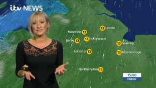 East Midlands Weather: Cloudy with rain