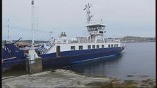 The previous Strangford ferry