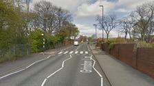Grindon Lane near Sandhill School in Sunderland.