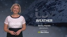 Cloudy for much of the UK