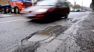 Council could get over £1M to combat potholes
