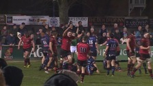 Jersey reached the semi-finals of the B&I cup last season