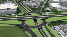 'Great milestone' in triple decker roundabout project