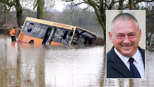 School bus driver jailed after leaving 23 children stranded in flood waters