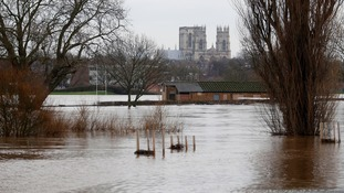 Major flooding in and around York last winter.