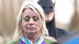 Arthur's mother Jacqueline Peebles dressed as She-Hulk