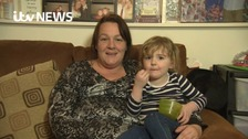 Three year old saves mum by making video call