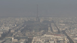 Car fumes have fogged up the Paris skyline for years.