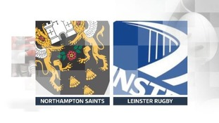 Northampton Saints V Leinster Rugby logo