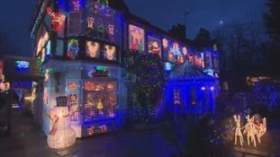 Spreading Christmas joy! Is this the best decorated house in Wales?