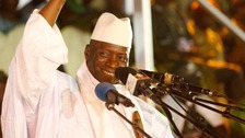 Gambian president rejects election result after defeat
