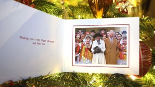 Prince of Wales and Duchess of Cornwall Christmas card.