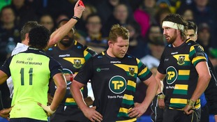 From Saint to sinner: Dylan Hartley's red card threatens captaincy dream