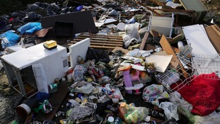 File photo of a fly-tip site