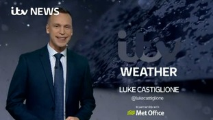 Saturday evening's weather for the west of the region