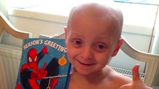 Bradley Lowery's heartfelt thank you to well-wishers