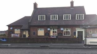The Fosse Hotel pub.