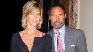 AA Gill with his fiancee Nicola Formby, his partner of nearly 25 years.