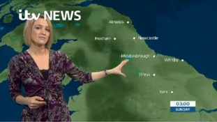 VIDEO: Saturday's weather forecast for the North East