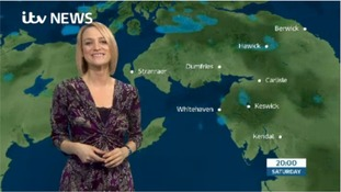 VIDEO: Saturday's weather forecast for Cumbria and the South of Scotland