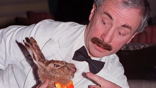 Fawlty Towers star Andrew Sachs.