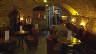 New gin bar inside Sunbridge Wells tunnels in Bradford