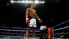 Anthony Joshua retains title knocking out Eric Molina
