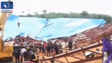 Church roof collapses in Nigeria killing 60