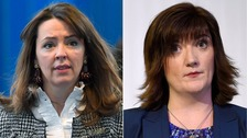 Nicky Morgan and Theresa May aide in 'trousergate' row