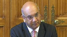 Chairman of the Home Affairs Select Committee Keith Vaz.